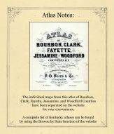 Atlas Notes, Bourbon County 1877